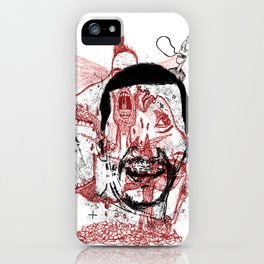 Chaotic mind iPhone Case