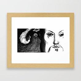 King Henry VIII Portrait Framed Art Print