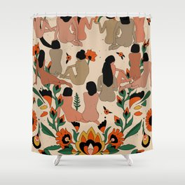 Got Your Back II Shower Curtain