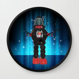 Robby Robot Wall Clock