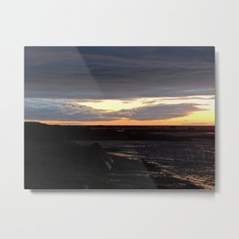 Sunset on the St-Lawrence Metal Print