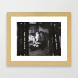 Looking Through A Cellulite View Framed Art Print