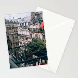 France Photography - Balcony From An Apartment In France Stationery Cards