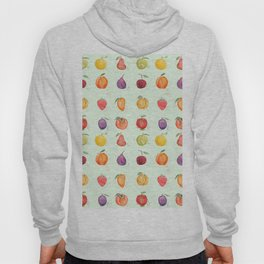 fruit collection watercolor Hoody