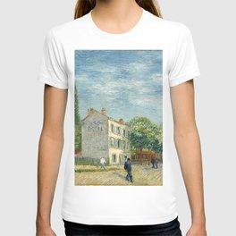 Restaurant Rispal at Asnieres by Vincent van Gogh T-shirt