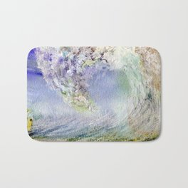Fury Tsunami by Maureen Donovan Bath Mat