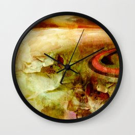 Without climate change - but green is the hope! Wall Clock