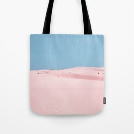 Pink Dunes Tote Bag