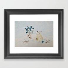 Polar Tenderness Framed Art Print