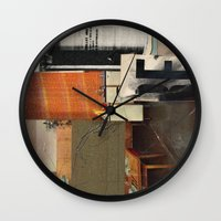 kit king Wall Clocks featuring KIT by Paul Prinzip