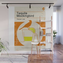 Tequila Mockingbird Wall Mural