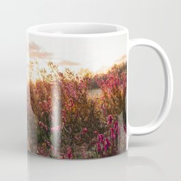 Windblown Enchanted Garden Pink Coffee Mug