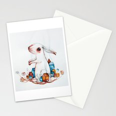 Very big rabbit Stationery Cards