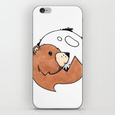 Moonbear iPhone & iPod Skin