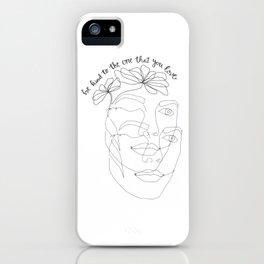 Halsey x Marshmello - Be Kind iPhone Case