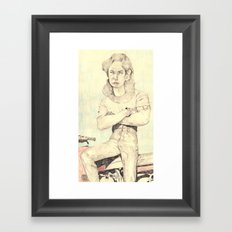 ~Biker Babe~ Framed Art Print