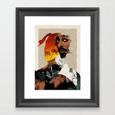 PAC Tribute Framed Art Print