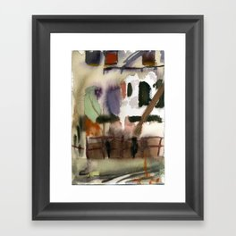 Bushwick Summer Day Framed Art Print