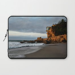 The Lookout over the Beach Laptop Sleeve