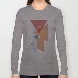 Trust in Shapes Long Sleeve T-shirt