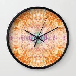 Colored Garden Wall Clock