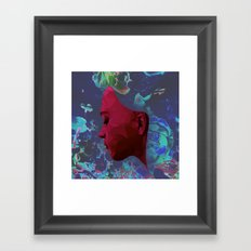 Do You Want to Be My Friend? (Floral Edition) Framed Art Print