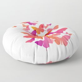 Flying Butterfly Floor Pillow
