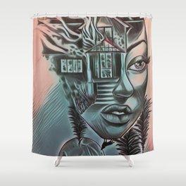 NBDisaster2 Shower Curtain