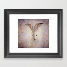 Madame Rabbit Framed Art Print