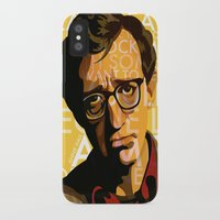 annie hall iPhone & iPod Cases featuring Woody Allen - Annie Hall I by FCRUZ
