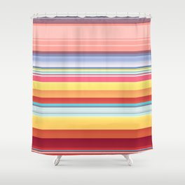 Filing Pencils Shower Curtain
