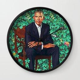 Obama Portrait Wall Clock