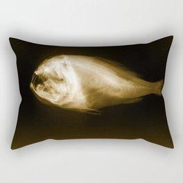 Fangtooth (Anoplogaster carnuta) Rectangular Pillow