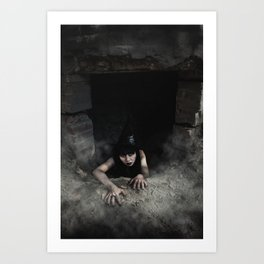 Witching Well Art Print