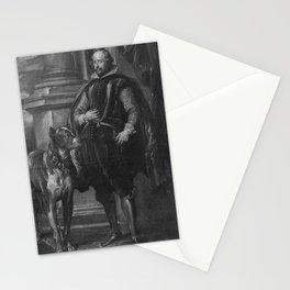 Anthony van Dyck - Herzog Wolfgang Wilhelm von Pfalz-Neuburg Stationery Cards