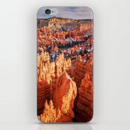 Sunset Point at Bryce Canyon Panorama iPhone Skin