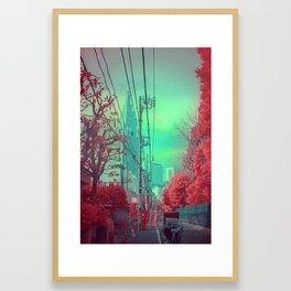 Infrapink 02 Framed Art Print