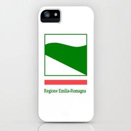 flag of Emilia romagna iPhone Case
