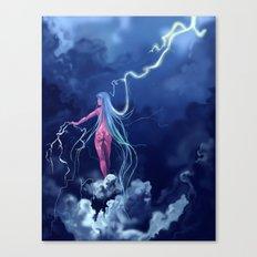 Lightning Canvas Print