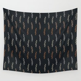 Fall Shades Dark Wall Tapestry