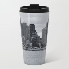 City and Airfield Metal Travel Mug
