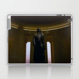 Thomas Jefferson @ his Memorial in Washington DC Laptop & iPad Skin