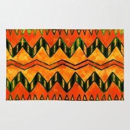 Aztec Ethnic Pattern Art N16 Rug