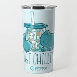 Skribbles: Just chillin' Travel Mug