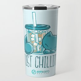 Skribbles: Just chillin' Travel Mug