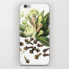 Watercolor Clove iPhone Skin