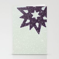 snowflake Stationery Cards featuring snowflake by Beverly LeFevre