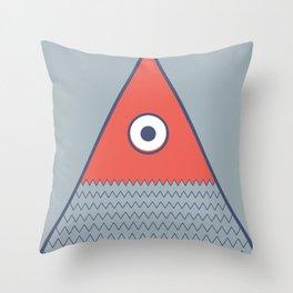 Never ending fish 2 part 1 Throw Pillow