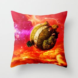 namek Throw Pillow