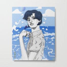 ami-chan Metal Print